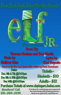 Elf the Musical Jr in Houston