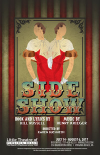 Side Show the Musical in Central Virginia