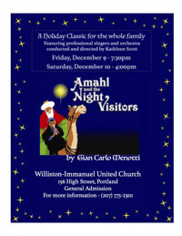 Amahl and the Night Visitors in Maine