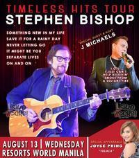 Stephen Bishop - Timeless Hits Tour in Philippines