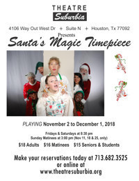 Santa's Magic Timepiece in Houston