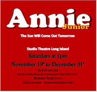 Annie Jr. in Broadway