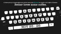 No Sleep November 2018 in Kansas City