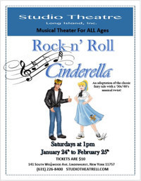 Rock and Roll Cinderella in Broadway
