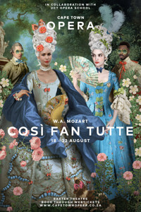 W.A. MOZART COSÌ FAN TUTTE in SOUTH AFRICA
