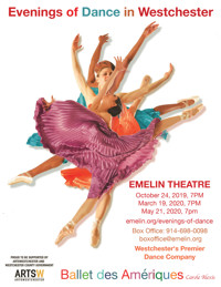 Evenings of Dance in Westchester, Ballet des Ameriques in Rockland / Westchester
