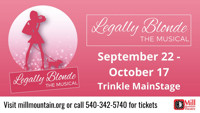 Legally Blonde the Musical in Central Virginia