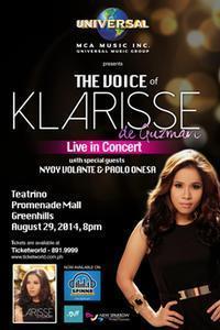 The Voice Of Klarisse De Guzman in Philippines