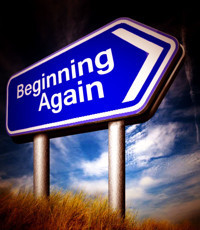 Beginning Again by David Alan Brown in Buffalo