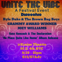 Unite the Vibe A two  Day Multi-media Festival  Event at Under St Marks & Kraine Theaters in Other New York Stages