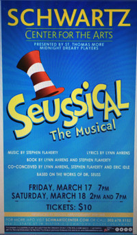 Seussical presented by St Thomas More Academy's Midnight Dreary Players in Broadway