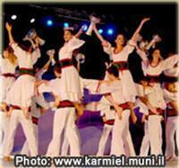 The Dancind Festival of Carmiel in Israel