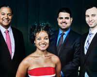 Misha Dichter and the Harlem Quartet in CONNECTICUT