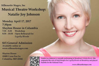 Musical Theatre Workshop: Natalie Joy Johnson in Broadway