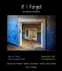 IF I FORGET by Steven Levenson in Austin