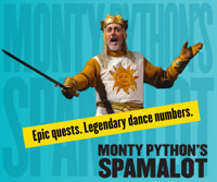 Spamalot in San Diego