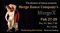 MERGE DANCE COMPANY ANNOUNCES 10TH ANNIVERSARY PERFORMANCES in Austin
