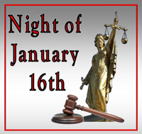 Night of January 16th in Jacksonville