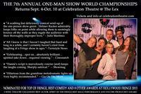 The 7th Annual One-Man Show World Championships in Los Angeles