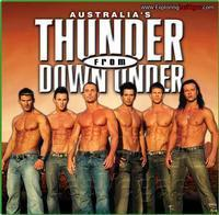 THUNDER FROM DOWN UNDER in Rockland / Westchester