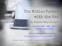 The Motherfucker With The Hat by Stephen Adly Guirgis in Broadway