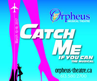 Orpheus Presents Catch Me If You Can The Musical in Ottawa