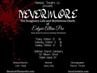 Nevermore-The Imaginary Life & Mysterious Death of Edgar Allan Poe in Off-Off-Broadway