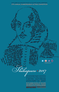 27th Annual Shakespeare Acting Competition in San Francisco