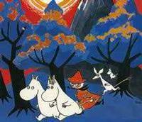 Moomin and the Comet in Finland