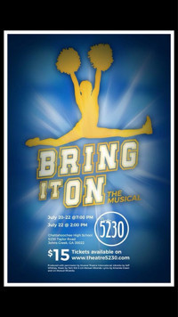 Bring It On! The Musical in Broadway