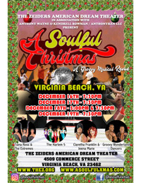 A SOULFUL CHRISTMAS: A GROOVY MUSICAL REVUE in Central Virginia