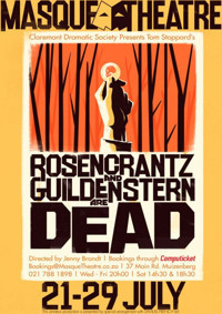 ROSENKRANTZ AND GUILDENSTERN ARE DEAD in South Africa
