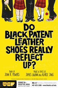 Do Black Patent Leather Shoes Really Reflect Up? in Orlando