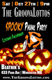 The GroovaLottos SPOOKY Phunk Party in Boston
