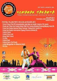 Festival Palang Pintu VIII & Gelar Budaya 2013 in Indonesia