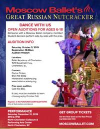 Great Russian Nutcracker Audition in South Carolina