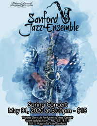 Sanford Jazz Ensemble's Spring Concert in Off-Off-Broadway