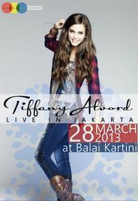 Tiffany Alvord Live in Jakarta in Indonesia
