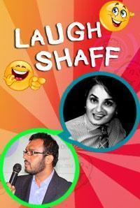 Laugh Shaff with Vasu Primlani and Vikram Poddar in India