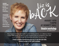 Liz is bACK, Liz Callaway  in Boston