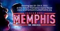 MEMPHIS-The Musical in Connecticut