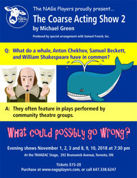 The Coarse Acting Show 2 in Toronto