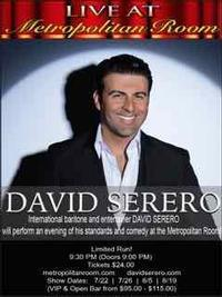 DAVID SERERO in Other New York Stages