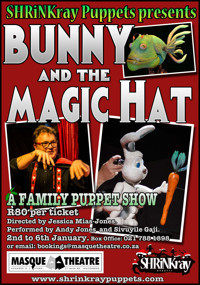 BUNNY AND THE MAGIC HAT in Broadway