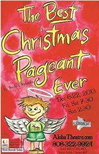 The Best Christmas Pageant Ever in Hawaii