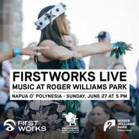 FirstWorks Live Napua O' Polynesia in Rhode Island Logo