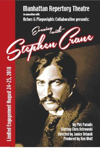 Evening with Stephen Crane in Off-Off-Broadway