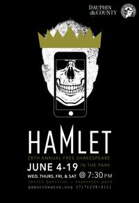Free Shakespeare in the Park: Hamlet in Central Pennsylvania