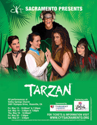 Disney's Tarzan in Sacramento