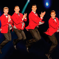 Four by Four: A Tribute to The Beach Boys The Beatles • The Bee Gees • Motown in Broadway
